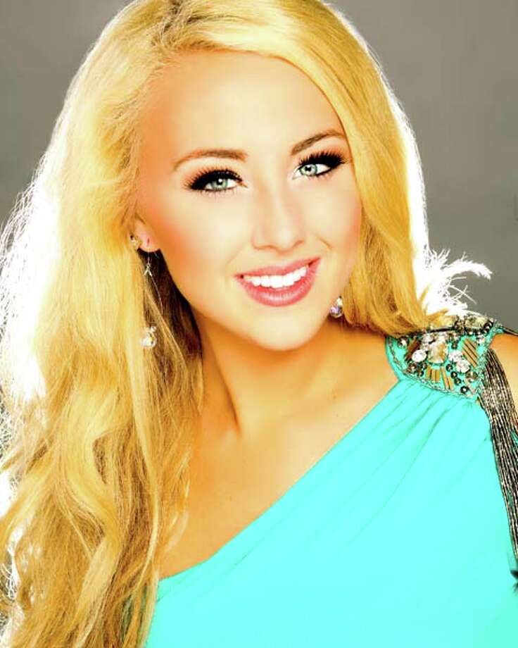 "Miss North Dakota - Jacky ArnessTalent: VocalCareer goal: International law and social justicePlatform: Empowerment ""VIA:"" Values, Image, Actions Photo: Miss America Organization"