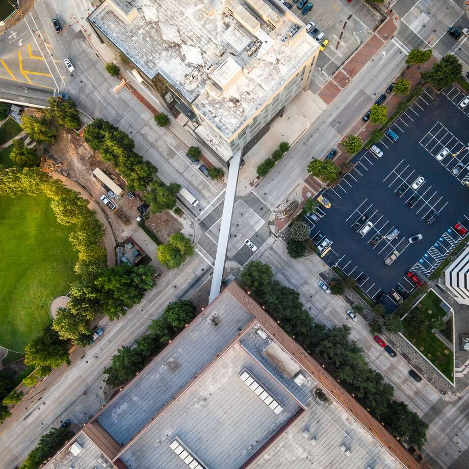 Can you guess the Downtown Houston intersection? (see next slide for answer) Photo: Pete Molick