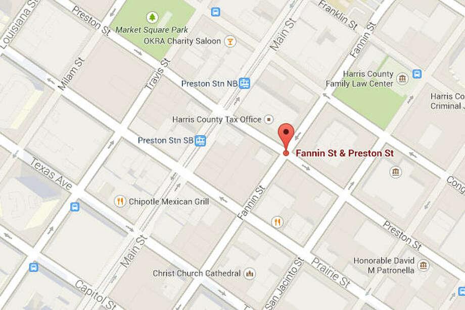 Fannin and Preston Photo: Google Maps Image
