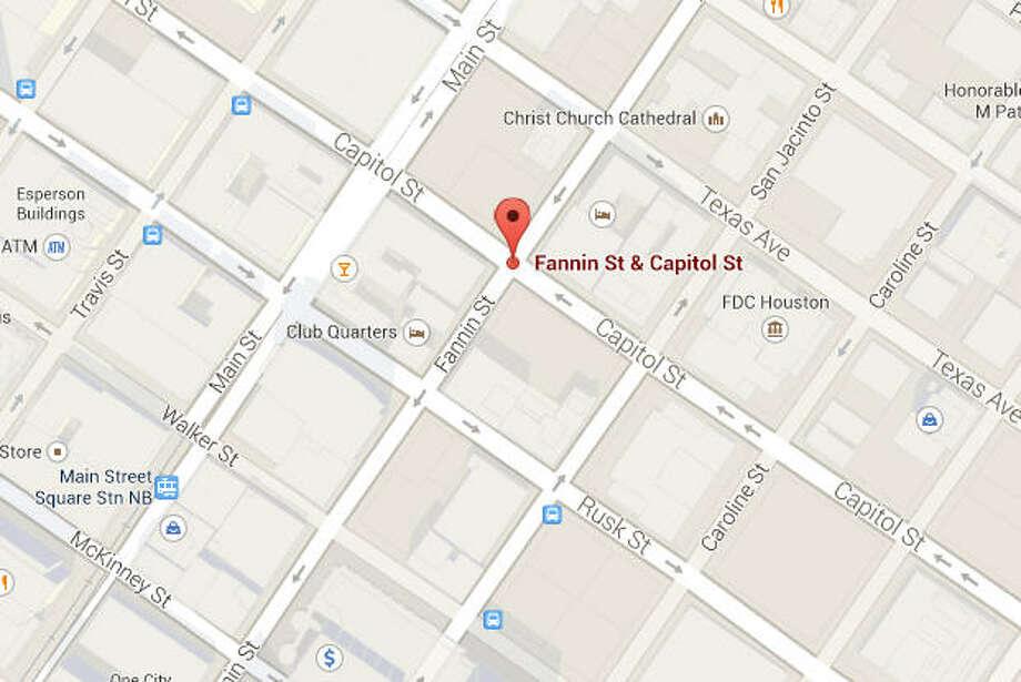 Fannin and Capital Photo: Google Maps Image