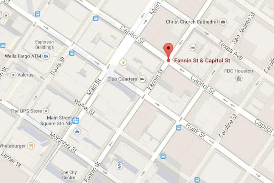 San Jacinto and Texas Photo: Google Maps Image