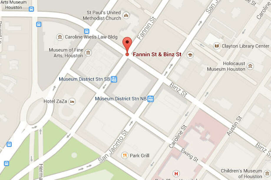 Fannin and Binz Photo: Google Maps Image