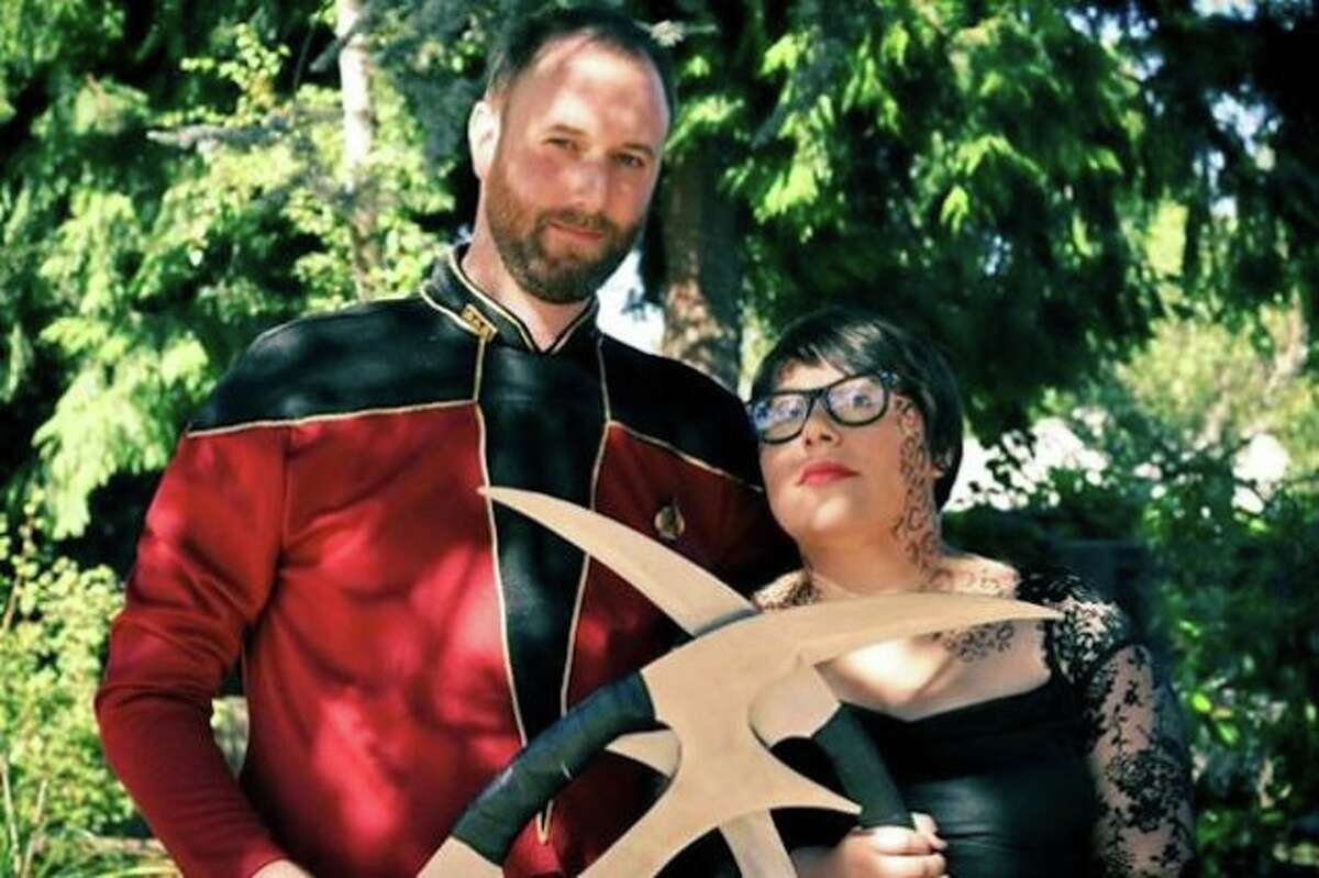 When planning her wedding, writer and comedian Elicia Sanchez knew she wanted to incorporate her Mexican heritage and love with Star Trek for her special day. The result? Trek Mex.