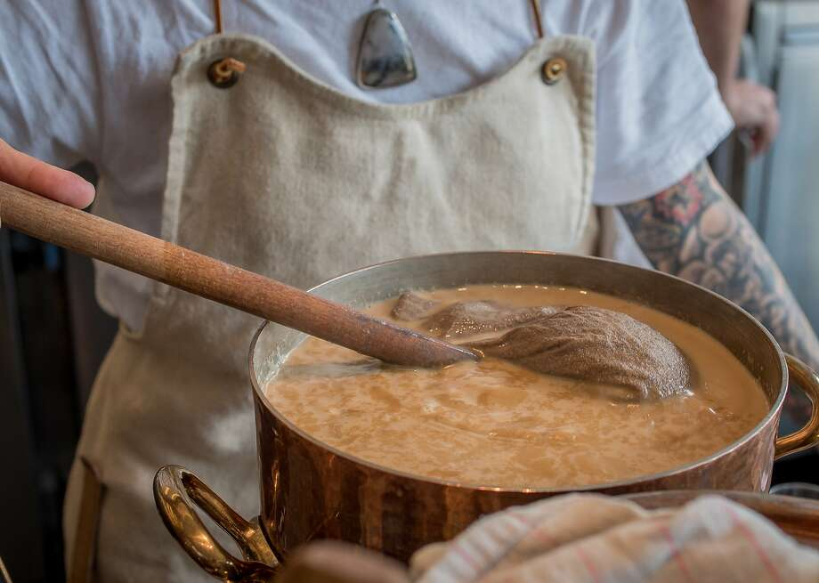 The Chai tea being stirred at Samovar in San Francisco, Calif. on August 29th, 2014. Photo: John Storey, Special To The Chronicle