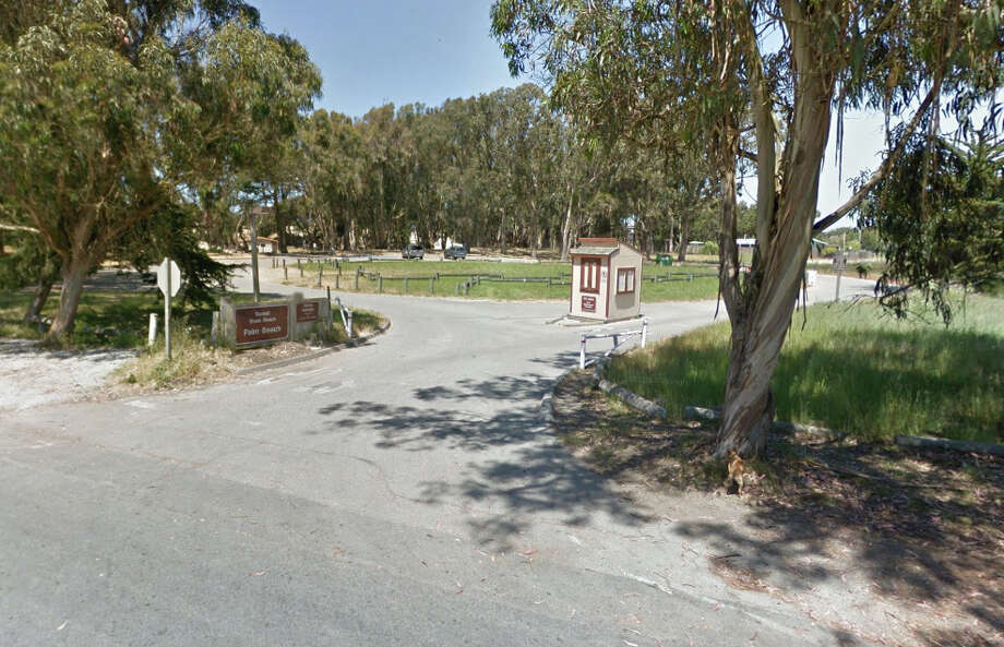 The entrance of Palm Beach State Park near Watsonville. Photo: Google Maps