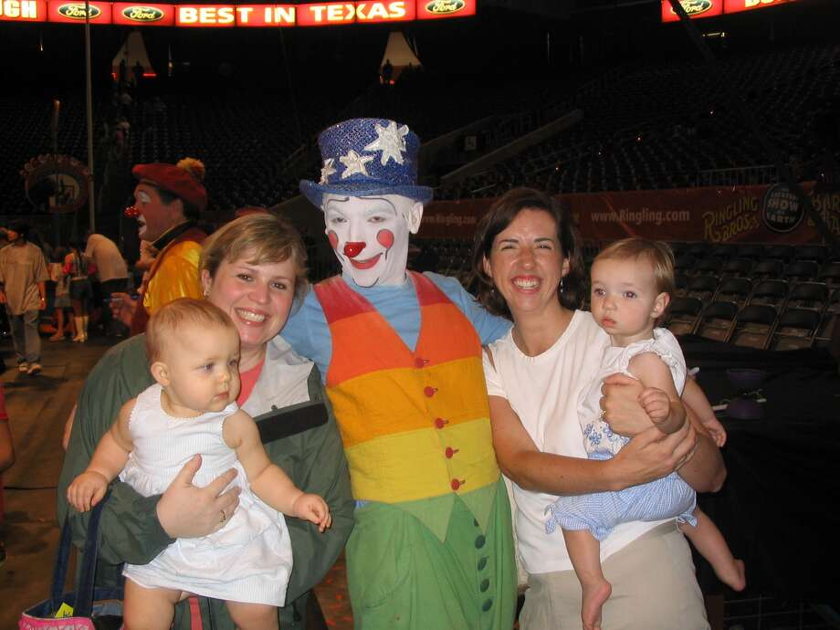 The Farrows and Walters made attending the Ringling Brothers & Barnum Bailey Circus an annual tradition when the girls were young. The girls are 2 in this outing. From left are Annette Walter, Jen Walter, Suzanne Farrow and Reagan Farrow.The Farrows and Walters made attending the Ringling Brothers & Barnum Bailey Circus an annual tradition when the girls were young. The girls are 2 in this outing. From left are Annette Walter, Jen Walter, Suzanne Farrow and Reagan Farrow. Photo: Picasa