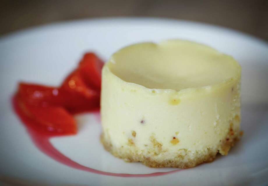 Marla Bakery's cheesecake by Amy Brown is made with farmer's cheese, which lends a pleasing texture. Photo: Russell Yip, Staff / ONLINE_YES