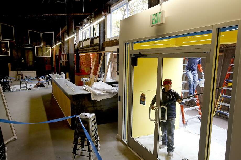 """A """"super pop-up"""" will take over the Hollywood Billiards building on a depressed block of Market Street. Photo: Michael Macor, The Chronicle"""