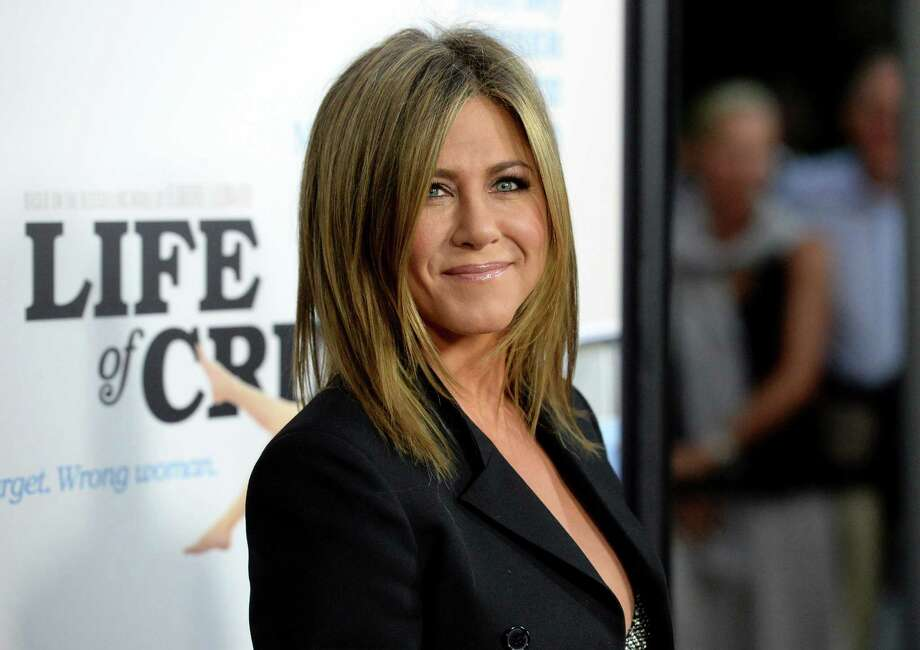 "HOLLYWOOD, CA - AUGUST 27:  Actress Jennifer Aniston attends the premiere of Lionsgate and Roadside Attractions' ""Life of Crime"" at ArcLight Cinemas on August 27, 2014 in Hollywood, California. Photo: Jason Merritt, Getty Images / 2014 Getty Images"