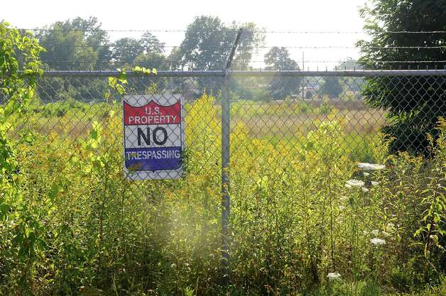 Fenced in superfund site at 1130 Central Ave. on Tuesday, Sept. 2, 2014 in Albany, N.Y. (Lori Van Buren / Times Union) Photo: Lori Van Buren / 00028419A