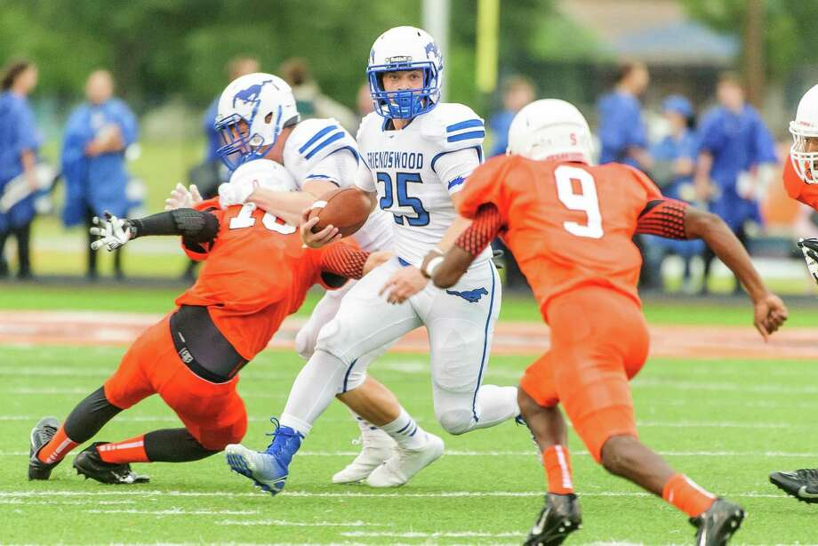 Friendswood's Sam Longbotham has been starring on offense, defense and special teams this season for the Mustangs. Photo: ÂKim Christensen, Photographer / ©Kim Christensen