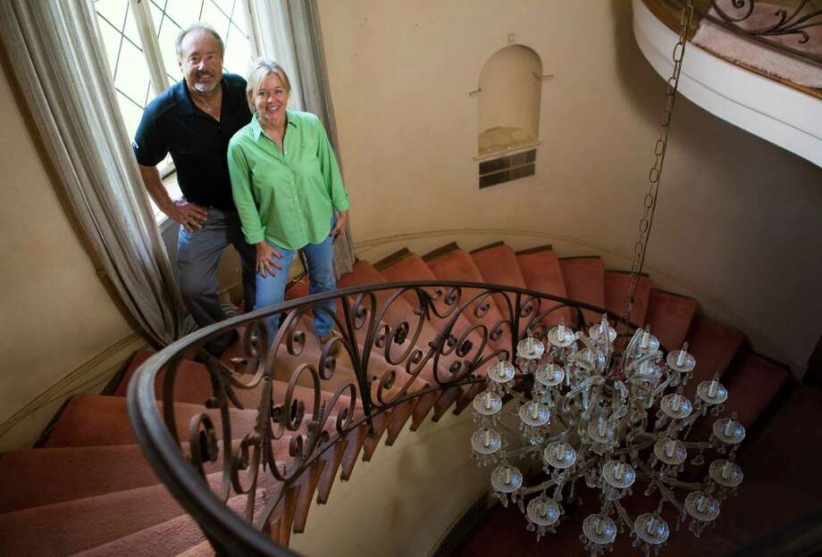 Darryl and Lori Schroeder recently acquired the approximately six decades old Weingarten mansion in Riverside Terrace. The four-bedroom home located on the corner of South MacGregor Way and Oakcrest Drive, is currently being evaluated by architects to start the renovations of the home soon. The new owners, Darryl and Lori Schroeder, expect the home will be finished in about a year. Tuesday, Sept. 2, 2014, in Houston. ( Marie D. De Jesus / Houston Chronicle ) Photo: Marie D. De Jesus, Staff / © 2014 Houston Chronicle