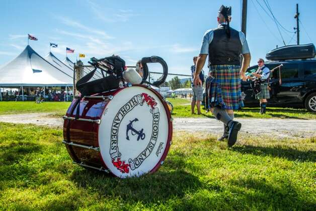 A musician in his kilt at the 2014 Capital District Scottish Games in Altamont. (Photo submitted by Denise Warrender)