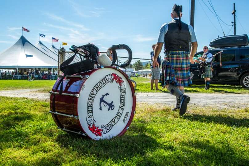 A musician in his kilt at the 2014 Capital District Scottish Games in Altamont. (Photo submitted by