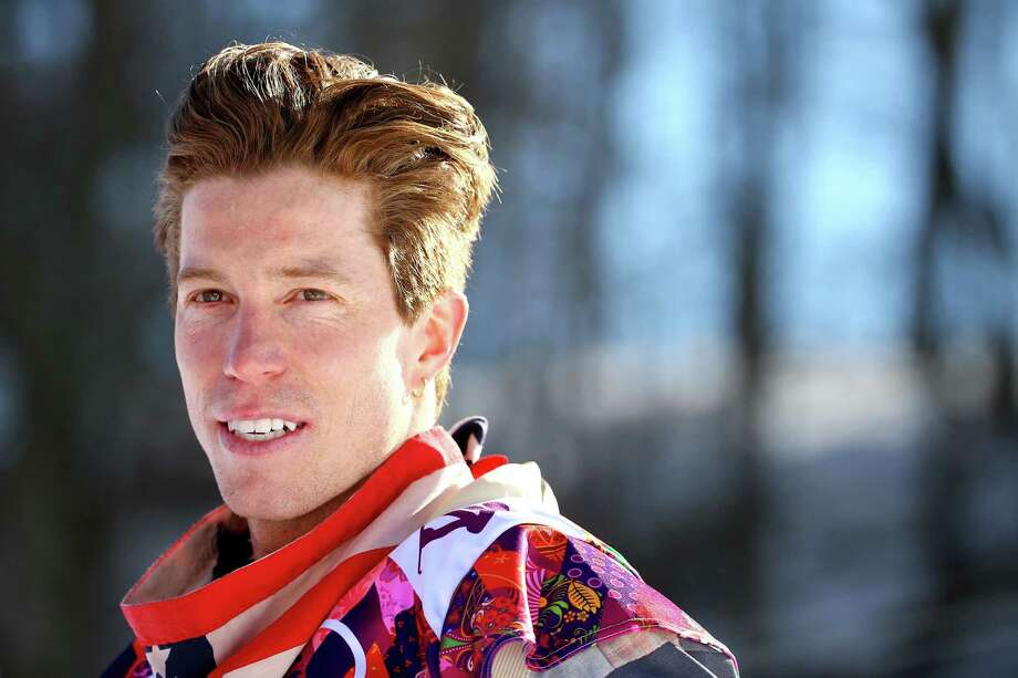 SOCHI, RUSSIA - FEBRUARY 08:  Snowboarder Shaun White of the United States answers questions after training during day 1 of the Sochi 2014 Winter Olympics at Rosa Khutor Extreme Park on February 8, 2014 in Sochi, Russia.  (Photo by Al Bello/Getty Images) ORG XMIT: 467993449 Photo: Al Bello / 2014 Getty Images