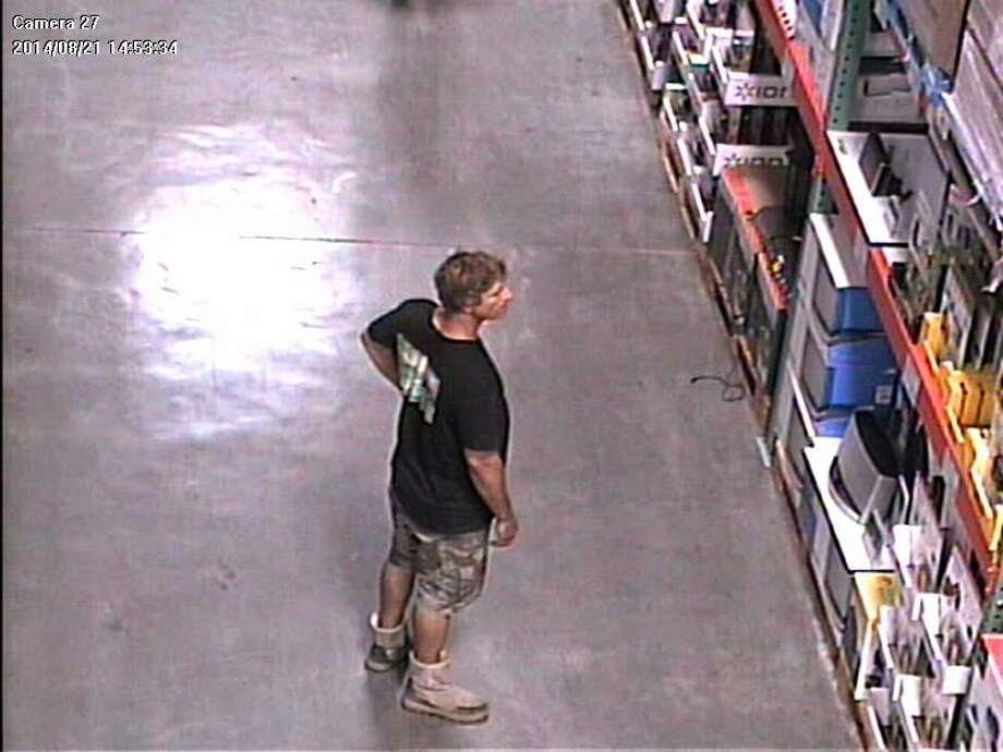 "Santa Cruz police are asking the public for help in identifying a thief who officers have nicknamed ""El Mustachio the Magician."" El Mustachio has struck the same Santa Cruz Costco four times this summer. Surveillance video caught this image of him during his third heist, Aug. 21. Photo: Courtesy, Santa Cruz Police Department"