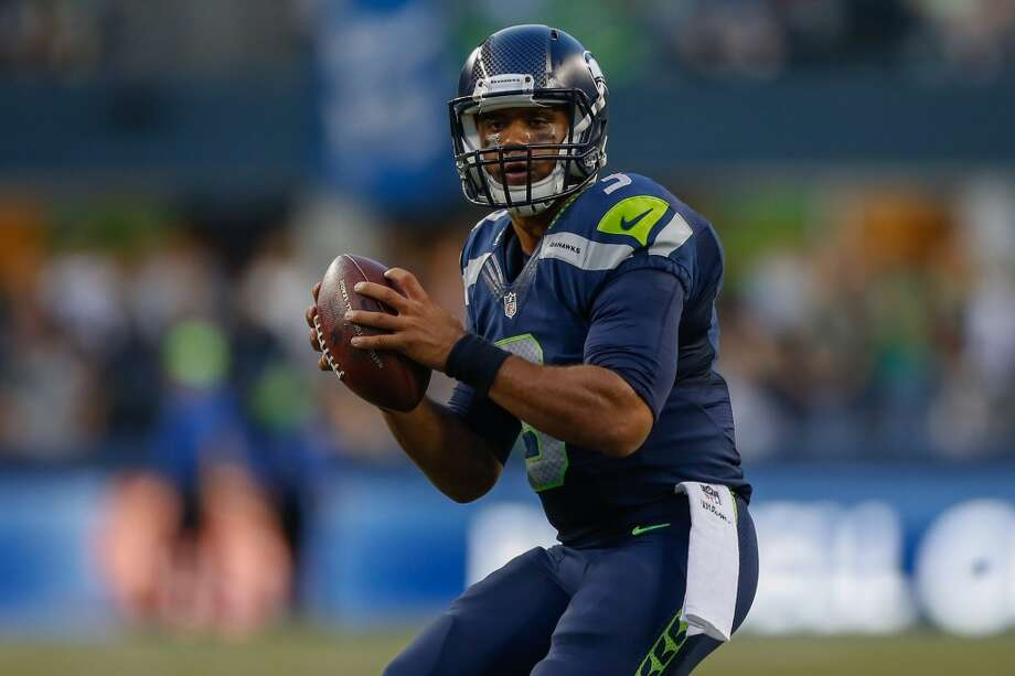 Will Russell Wilson take the next step? Best-case: Let's get this out of the way first: Quarterback Russell Wilson has been as good as could have been expected through his first two NFL seasons. From unheralded third-round pick to upstart to Super Bowl champ, Wilson's rise has been meteoric. Still, the 25-year-old is far from a finished product at this state of his career. Wilson looked poised to make the jump to superstardom this preseason, completing 78.6 percent of his passes -- at an astonishing 10.4 yards per attempt -- and throwing for three touchdowns while adding another three on the ground. If he manages to approach the kind of production he looks capable of achieving this offseason, the Hawks offense will be downright scary in the regular season. Photo: Otto Greule Jr, Getty Images