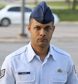 September 1, 2014: Former Staff Sgt. Luis Walker, given 20 years in the Air Force's worst sex scandal, dies in a Kansas City, Mo., hospital. He hanged himself in a prison cell at the U.S. Disciplinary Barracks. Photo: San Antonio Express-News / File Photo / ¨2012 San Antono Express-News