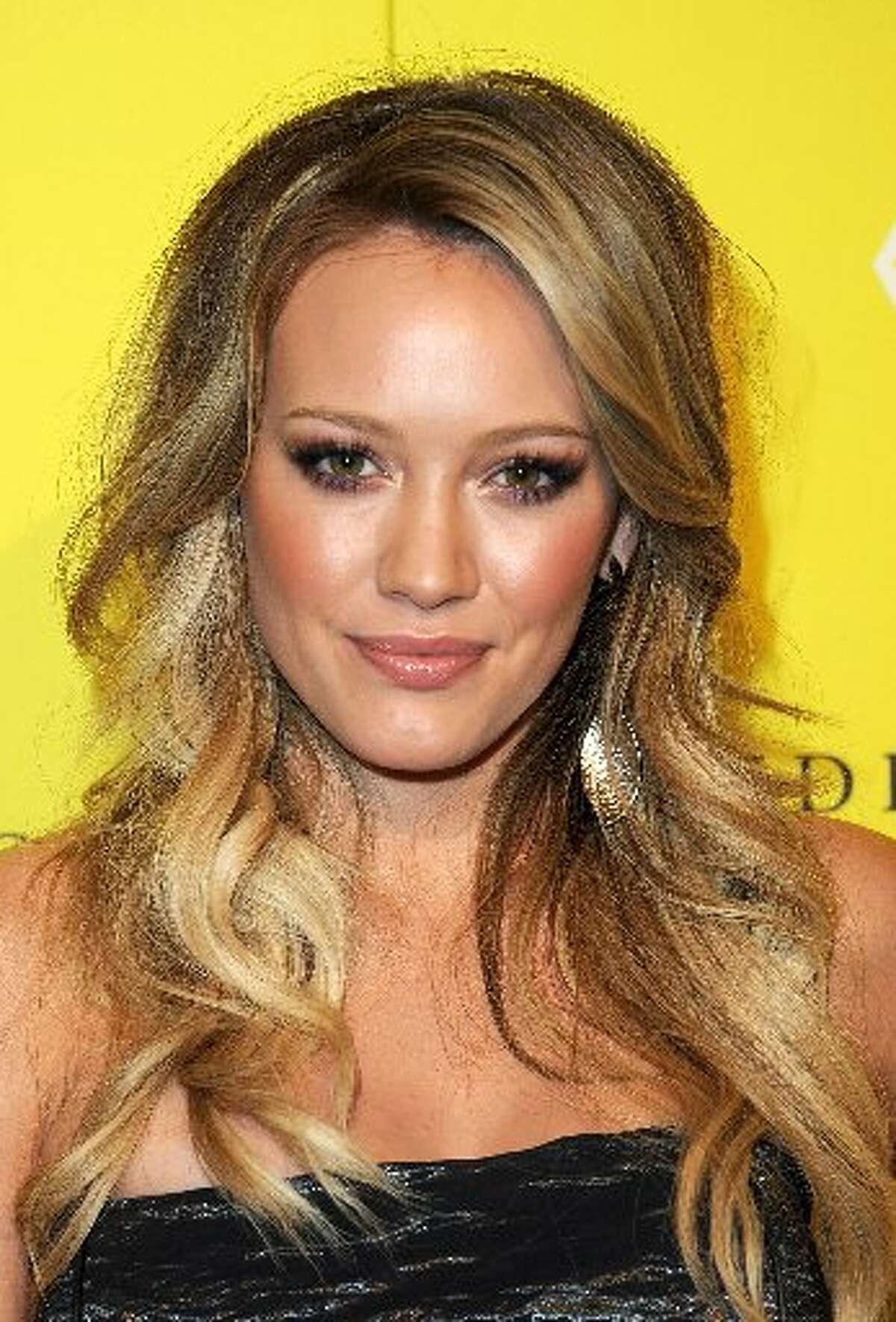 Actress/singer Hilary Duff