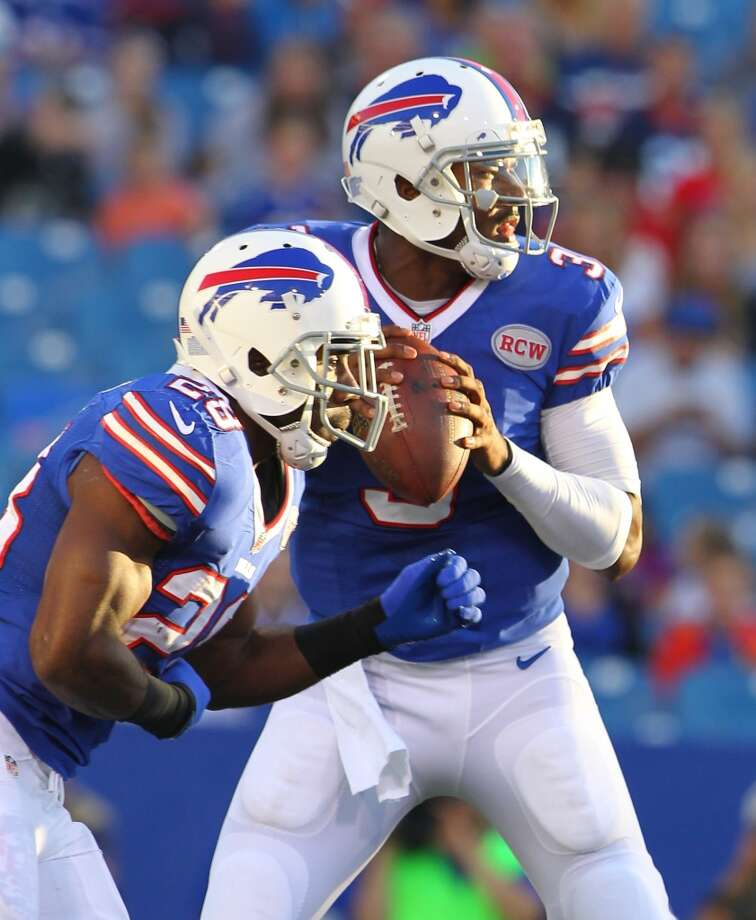 27. Buffalo (Last year: 6-10):   QB EJ Manuel was mediocre during the preseason. He better improve fast because Kyle Orton will be warming up. Photo: Bill Wippert, Associated Press