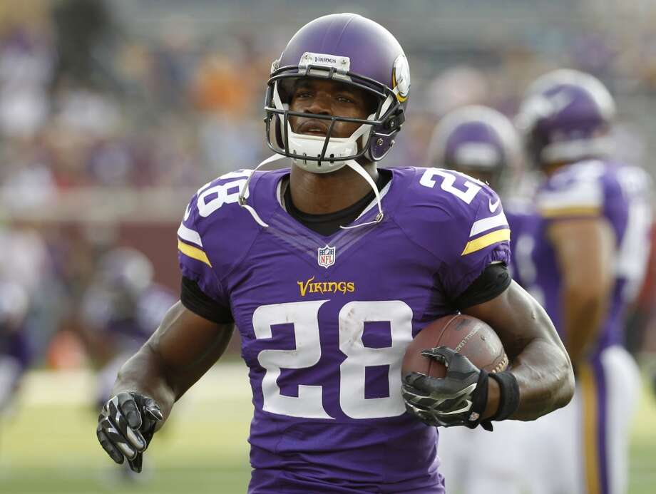 24. Minnesota (Last year: 5-10-1):   Long-time defensive coordinator Mike Zimmer has his first head coaching job, and he's smart enough to know he better saddle up Adrian Peterson. Photo: Ann Heisenfelt, Associated Press