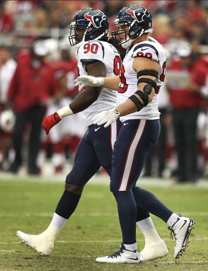 23. Houston (Last year: 2-14):   The NFL's worst team in 2013 can break a 14-game losing streak if the Texans defeat the Redskins in coach Bill O'Brien's debut. Photo: Brett Coomer, Houston Chronicle
