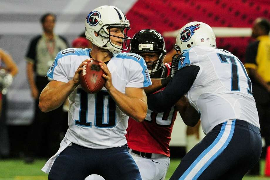 22. Tennessee (Last year: 7-9):   If QB Jake Locker stays healthy in the last year of his contract, the Titans have a chance to compete for a wild card in coach Ken Whisenhunt's first season. Photo: Scott Cunningham, Getty Images