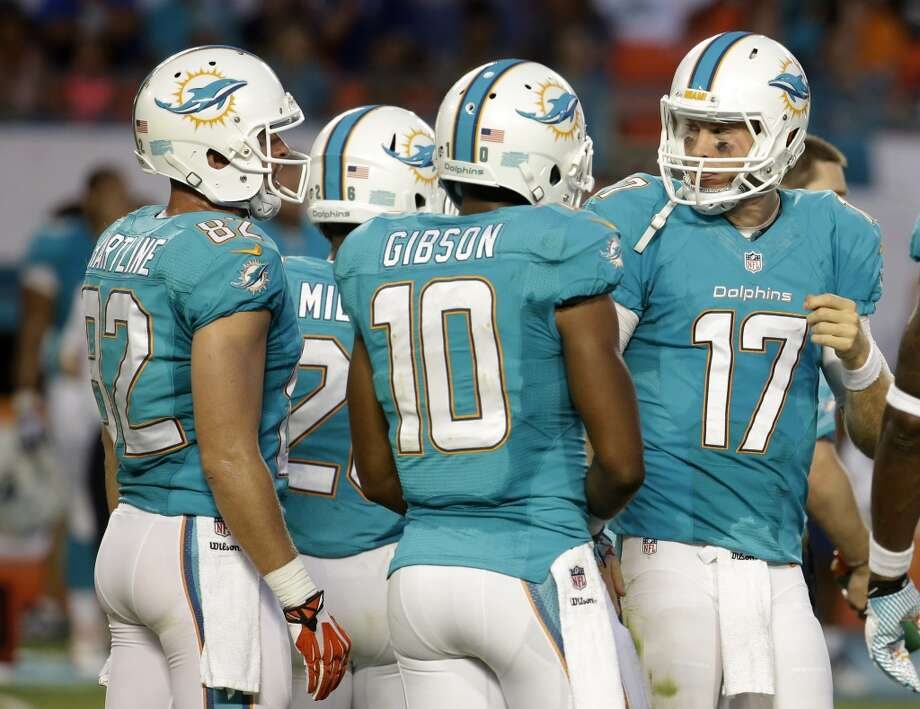 20. Miami (Last year: 8-8):   There are media reports that coach Joe Philbin is on the hot seat, and if the Dolphins have a losing season, he'll be fired. Photo: Lynne Sladky, Associated Press