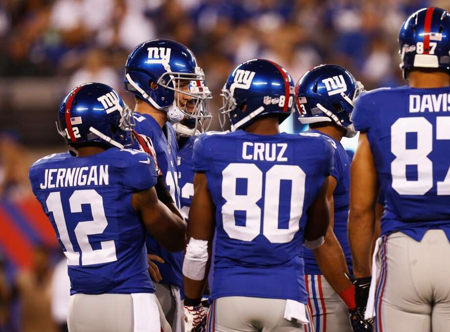 18. NY Giants (Last year: 7-9):   There's already speculation that coach Tom Coughlin and general manager Jerry Reese will be fired if the Giants have another losing season. Photo: Jeff Zelevansky, Getty Images