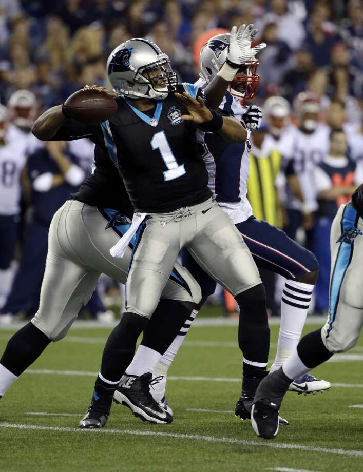14. Carolina (Last year: 12-4):   Last season, the Panthers went from worst to first in the NFC South. Considering personnel departures, could they go from first to worst? Photo: Stephan Savoia, Associated Press