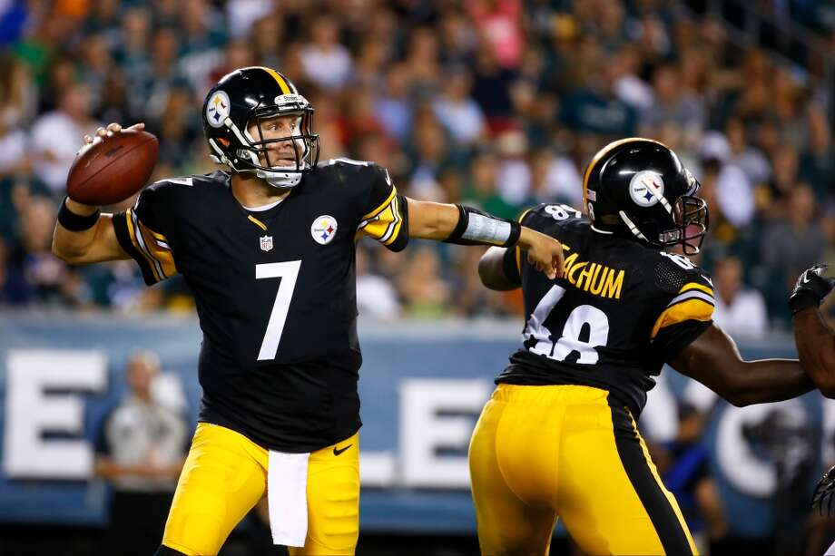 11. Pittsburgh (Last year: 8-8):   Ben Roethlisberger has a 95-47 (.669) regular-season record, but he's been forced to watch the playoffs on television the last two years. Photo: Matt Rourke, Associated Press