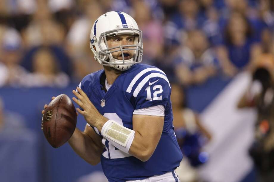10. Indianapolis (Last year: 11-5):   It's no surprise the Colts have won consecutive AFC South titles after drafting Andrew Luck. If he's healthy, they're the division favorite. Photo: AJ Mast, Associated Press