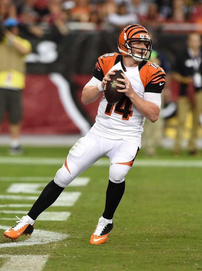 9. Cincinnati (Last year: 11-5):   QB Andy Dalton has a new contract, but he's still got the demons of three consecutive playoff defeats that must be exorcized this season. Photo: Norm Hall, Getty Images
