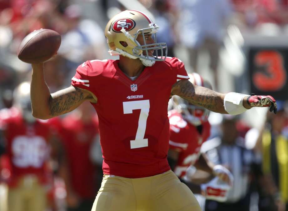 7. San Francisco (Last year: 12-4):   If you're a 49ers fan, don't let the turmoil of camp and preseason delude you into thinking they're anything but a title contender. Photo: Nhat V. Meyer, McClatchy-Tribune News Service