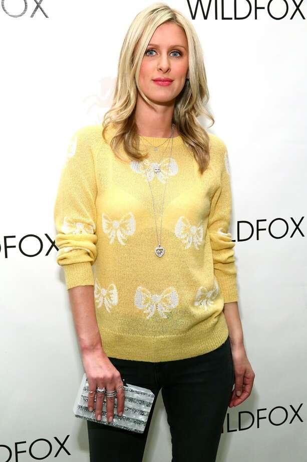 Nicky Hilton poses for photos backstage at Wildfox during Mercedes-Benz Fashion Week Fall 2014 at Pier 59 on February 5, 2014 in New York City. Photo: Astrid Stawiarz, Getty Images