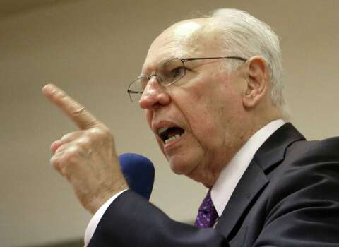 """In an April 25, 2013, speech to a local Tea Party group in Hood County, the Rev. Rafael Cruz warned about """"death panels"""" under Obamacare, according to The Daily Beast. He also said the federal government wants to confiscate """"our fortunes.""""Cruz went on to lie about Obama's record on abortion. """"Do you realize,"""" he asked a room of conservatives, """"the first bill President Obama signed into law was to legalize third trimester abortions?"""" (The first law Obama signed into law was the Lilly Ledbetter Fair Pay Act, according to The New York Times.)He turned to Kermit Gosnell, an abortion provider convicted of murdering babies in 2013, saying Obama """"probably doesn't have any problem with what this butcher in Philadelphia is doing.""""Rafael Cruz speaks during a tea party gathering Friday, Jan. 10, 2014, in Madisonville, Texas. (AP Photo/Pat Sullivan) Photo: Pat Sullivan, File Photo / AP"""