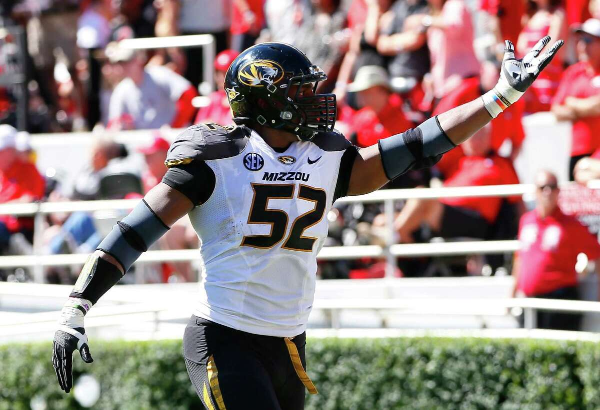 Michael Sam , a defensive lineman with the Missouri Tigers, sent waves through the world of sports Monday when he came out as gay. Expected to be a sure pick in the upcoming NFL Draft, Sam would become both the first openly gay athlete to be drafted and, therefore, to play in the NFL. But he's not the first professional athlete to go public with his homosexuality -- here are some of the most notable openly gay pros.
