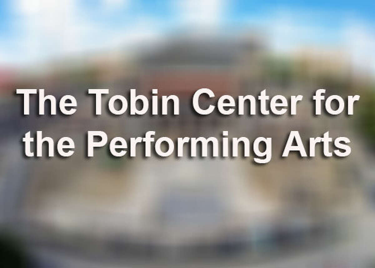 The Tobin Center for the Performing Arts is seen Wednesday May 28, 2014 in an aerial image taken with a quadcopter and an action sports-style camera.