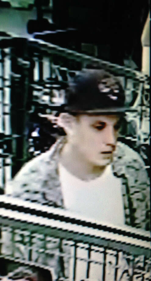 Police are asking for the public's help in finding an armed man accused of robbing three businesses Monday night.