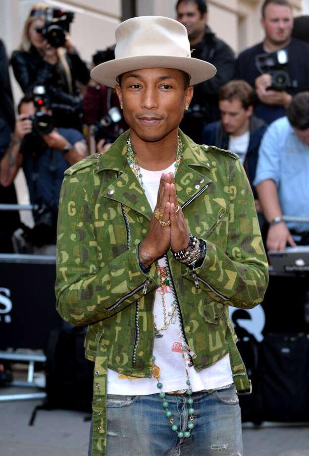 Pharrell Williams attends the GQ Men of the Year awards at The Royal Opera House on September 2, 2014 in London, England. Photo: Anthony Harvey, Getty Images