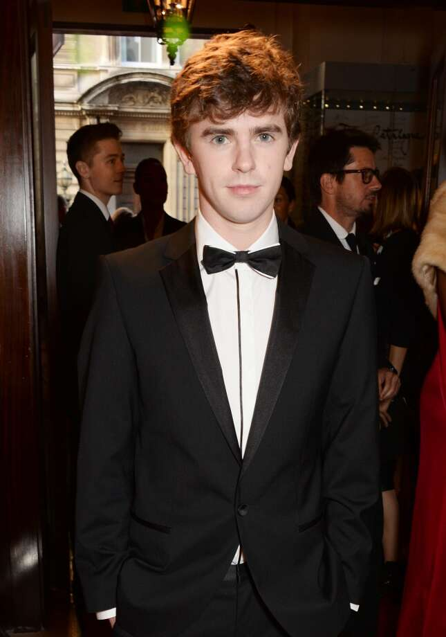 Freddie Highmore attends the GQ Men Of The Year awards in association with Hugo Boss at The Royal Opera House on September 2, 2014 in London, England. Photo: David M. Benett, Getty Images