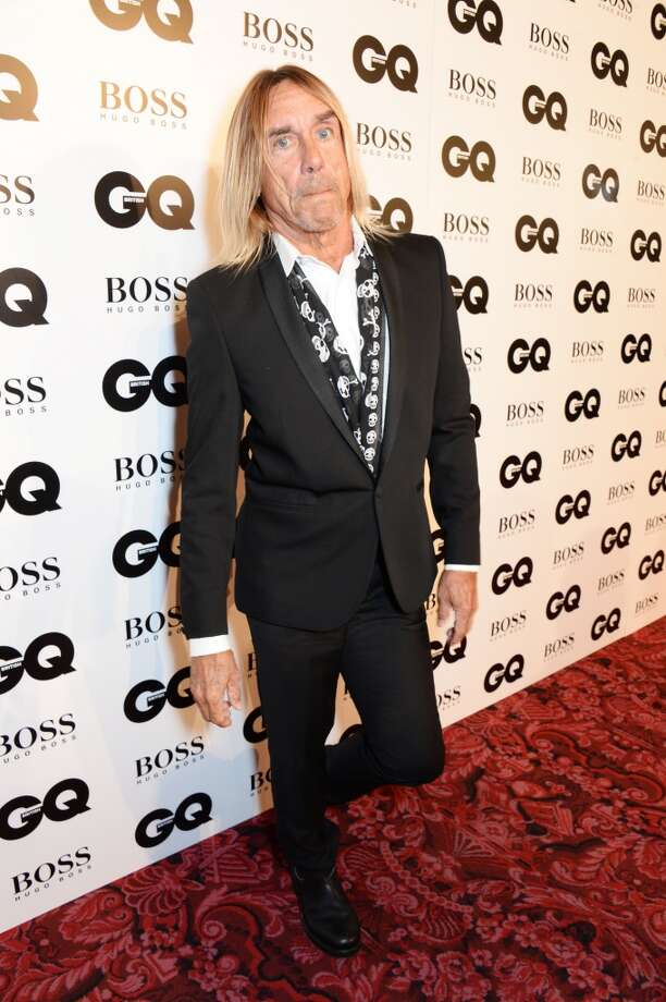 Iggy Pop attends the GQ Men Of The Year awards in association with Hugo Boss at The Royal Opera House on September 2, 2014 in London, England. Photo: David M. Benett, Getty Images