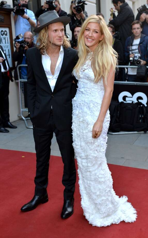 Dougie Poynter and Ellie Goulding attend the GQ Men of the Year awards at The Royal Opera House on September 2, 2014 in London, England. Photo: Anthony Harvey, Getty Images