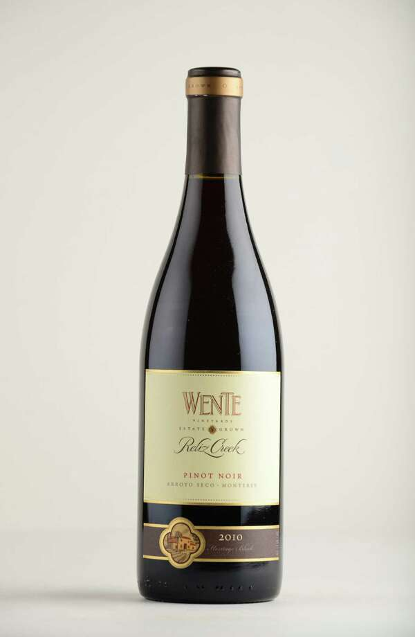 Wente Pinot Noir, 2010 California Monday May 12, 2014, at the Times Union in Colonie, N.Y. (Will Waldron/Times Union) Photo: WW