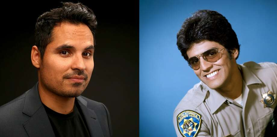 Michael Peña Officer Francis Llewellyn 'Ponch' Poncherello, originally played by playErik Estrada. Photo: NBC, NBCU Photo Bank