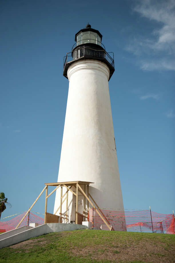 The Port Isabel Lighthouse, built in 1852, is undergoing restoration to look as it did during the late 19th century. Photo: Valerie D. Bates, Courtesy Of City Of Port Isabel / © Valerie D. Bates