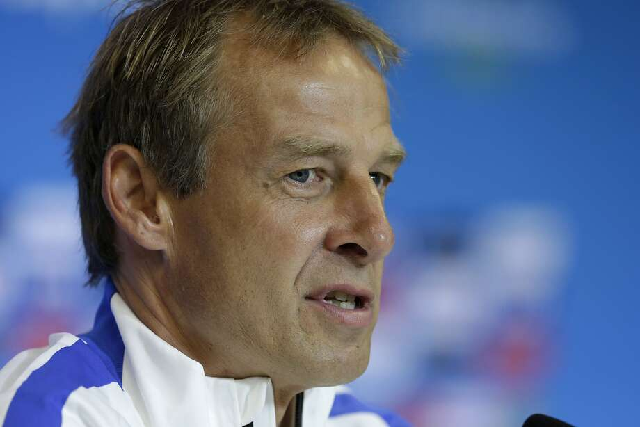 Jurgen Klinsmann Photo: Julio Cortez, Associated Press