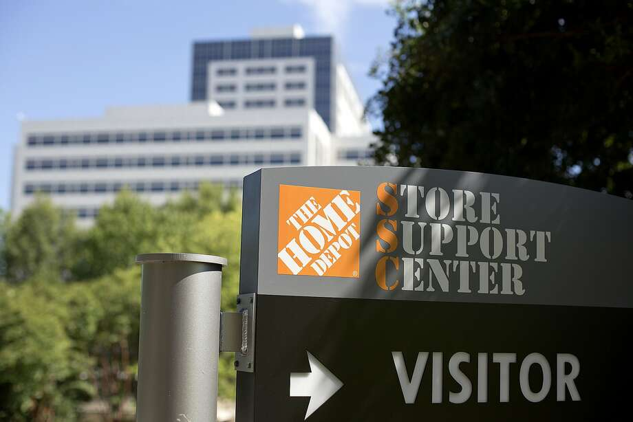 "The Home Depot corporate headquarters is seen, Wednesday, Sept. 3, 2014, in Atlanta. Home Depot may be the latest retailer to suffer a credit card data breach. The Atlanta-based home improvement retailer told The Associated Press Tuesday that it is looking into ""unusual activity"" and that working with both banks and law enforcement. (AP Photo/David Goldman) Photo: David Goldman, Associated Press"