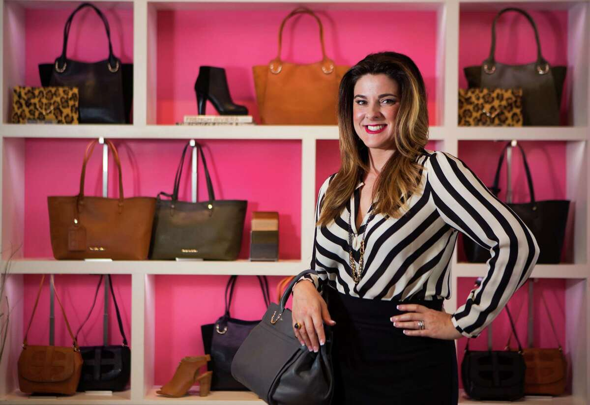 Elaine Turner and her husband Jim Turner are the owners of the lifestyle brand Elaine Turner. The 15-years-old business provides women with accessible feminine glamour through the handbags, clothing, footwear and jewelry available at their seven boutiques in Texas. Tuesday, Aug. 19, 2014, in Houston. ( Marie D. De Jesus / Houston Chronicle )