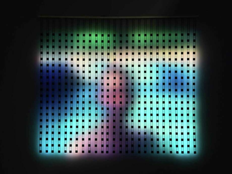 San Francisco electronic artist Jim Campbell has a new show at Hosfelt Gallery. His work creates images out of data and movement. Photo: Courtesy Of Jim Campbell / Jim Campbell